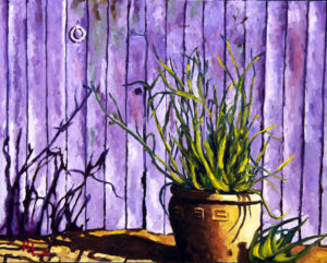 1701F TUCSON LAVENDER 16x20 Oil on Panel