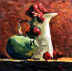 1811j-green-pair-still-life-16x20-oil-on-panel-small