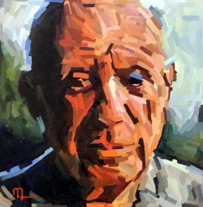 2008D - PABLO PICASSO - 16x16 Oil on Panel